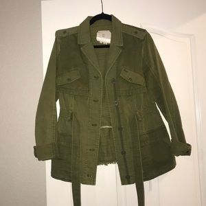 Cute Military Jacket from Anthropologie